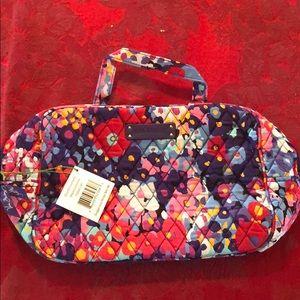 Vera Bradley Grand Cosmetic bag in Impressionista
